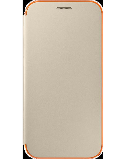 Samsung Neon Flip Cover Galaxy A5 2017 - Or