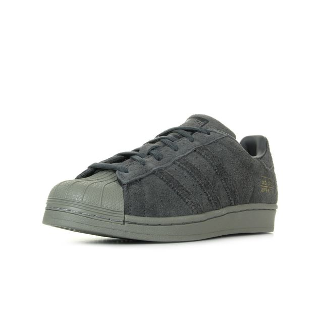 82ba4c97436 Adidas - Superstar Junior Grey Five - pas cher Achat   Vente Baskets ...