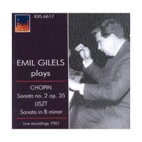 Idis - Emil Gilels joue Chopin et Liszt : Sonate n2 & Sonate en Si