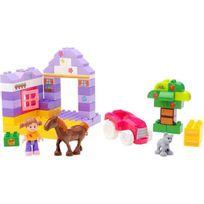 Megabloks - Mega Bloks Junior Builders - Mini Theme Etable de Poney