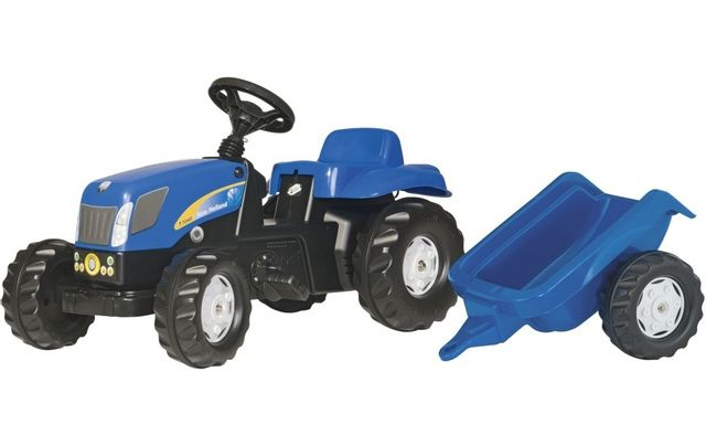 Rolly Toys Tracteur A Pedales + Remorque
