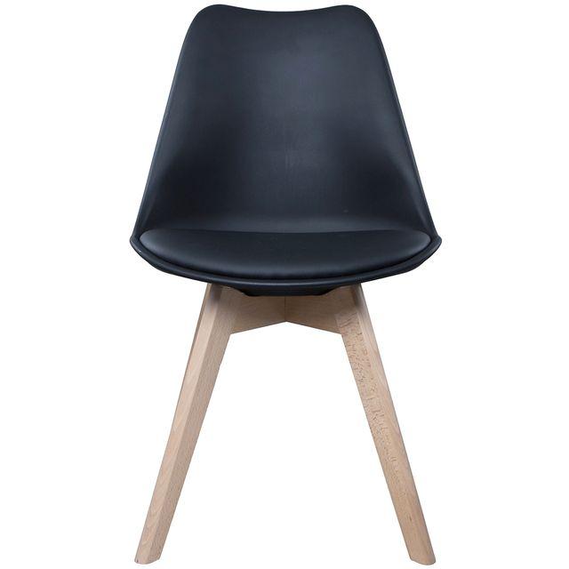 Chaise avec coque polypropylène   Groupon