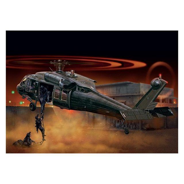 Italeri Maquette hélicoptère : Uh-60/MH-60 Black Hawk 1/48