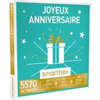 Smartbox - Joyeux anniversaire - 5570 activités : séance bien-être, gastronomie ou aventure - Coffret Cadeau