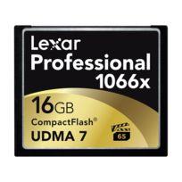 LEXAR - Carte CF 16 Go 1066X Professional UDMA