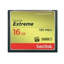 Sandisk - Carte Mémoire CompactFlash Extreme - 16 Go
