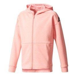 Adidas - Sweatshirt Id Stadium Full Zip Hoodie rose fille - pas cher ... 6eac0d81e53d