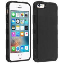 Avizar - Coque Protection Anti-Gravité Apple iPhone Se, 5 et 5S - Silicone Nano Ventouse