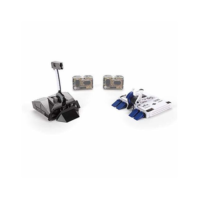 Hexbug BattleBots Rivals 40 Blacksmith and Biteforce, Toys for Kids Fun Battle Bot Hex Bugs Black Smith and Bite Force