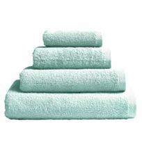 Essix - Serviette de bain Aqua en Coton Azur - 55 x 100 cm