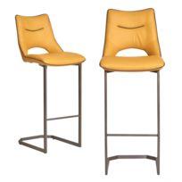 Jaune Design 2 Sangria Chaise De Bar 2Lot 8ynN0wmvO