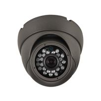 Perel - Caméra Multi Protocoles – Hd-Tvi / Cvi / Ahd / Analogique – Extérieur – Dôme - 1080P