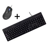 BLUESTORK - Pack clavier souris filaire - multimédia