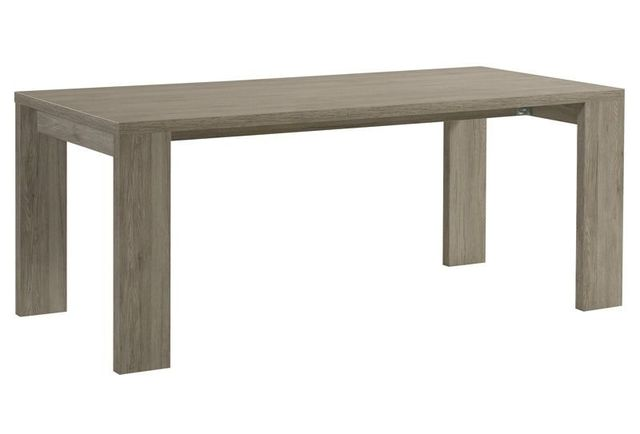 Comforium Table rectangulaire extensible contemporaine 160-210 cm coloris Portofino