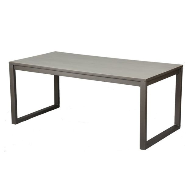 Tousmesmeubles Table de repas - Anthros - L 180 x l 90 x H 75