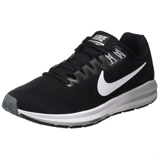 102c2bc9778e Nike - W nike air zoom structure 21 mixte adultes nike 904701. Couleur    Noir