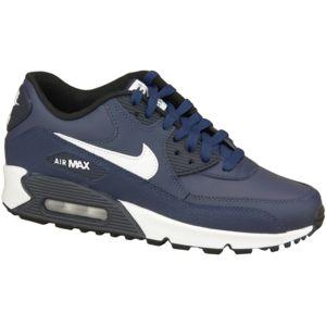 Nike - Air Max 90 Ltr Gs 724821-401 Enfant mixte Baskets Bleu 36