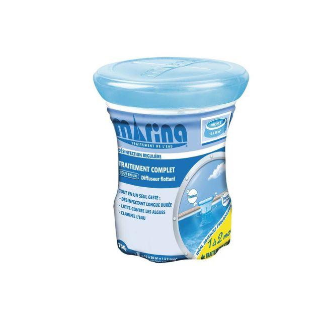 MARINA - Traitement au chlore 1 à 2 mois pour 10 à 30 m³