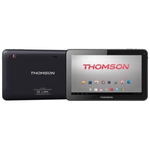"THOMSON - Tablette tactile 10"" - Quad Core A33 - Stockage 8 Go - RAM 1 Go - Android 5.1 - Noire"