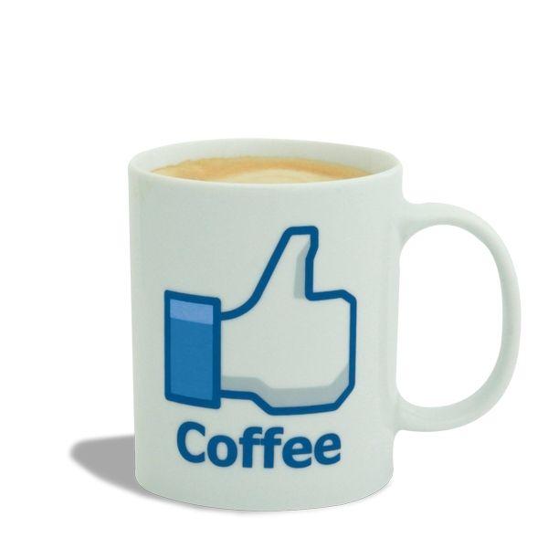 Totalcadeau Tasse j'aime Coffee Mug j'aime le café