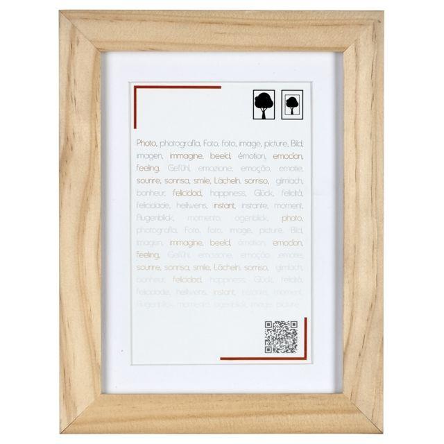 ceanothe cadre photo smart bois 40x50 cm passe partout. Black Bedroom Furniture Sets. Home Design Ideas