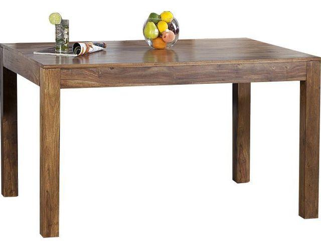 COMFORIUM Table à manger de 120 cm en bois de palissandre