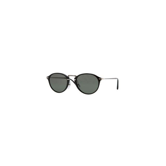 9e7f33e9279131 Persol - Lunettes de soleil Edition Reflex Série Limitée Noir Polarisé  Po3046S Po3046S 95 58