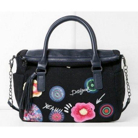 67b4ded1f9 Desigual - sac à main cabas bandoulière femme - Liberty yeah - pas cher  Achat / Vente Sacs à dos - RueDuCommerce