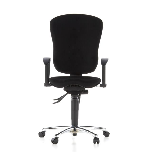 Siège wellness Siège de bureau X ercise Chair, tissu noir, chromé
