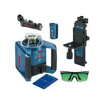 Bosch - Laser rotatif de portée 300m à mise à niveau automatique horizontale et verticale GRL 300 HVG 0601061701