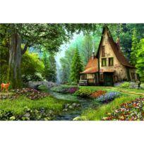 Educa Borras - Puzzle 6000 pièces : Maison de livre de contes