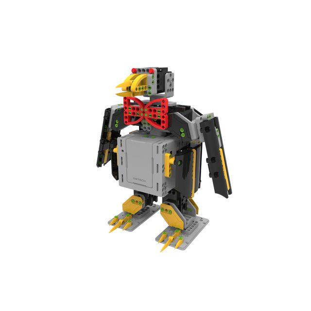 UBTECH Robot connecté Jimu Explorateur - Noir Avec350 piècesà monter et7 servo-moteurs, le kit Explorateur des Robots Jimu vous permettra de construire6 modèles différentsdont le pingouin, le T-Rex, ou le perroquet ! Grâce au kit Explorateur, vous di