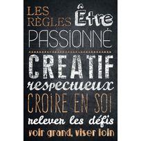 Artis - Toile imprimée Etre Passionné 45 x 65 cm
