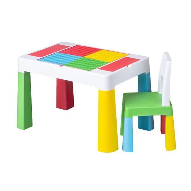Tega Baby Table Chaise Enfant Dessin Et Jeu Construction