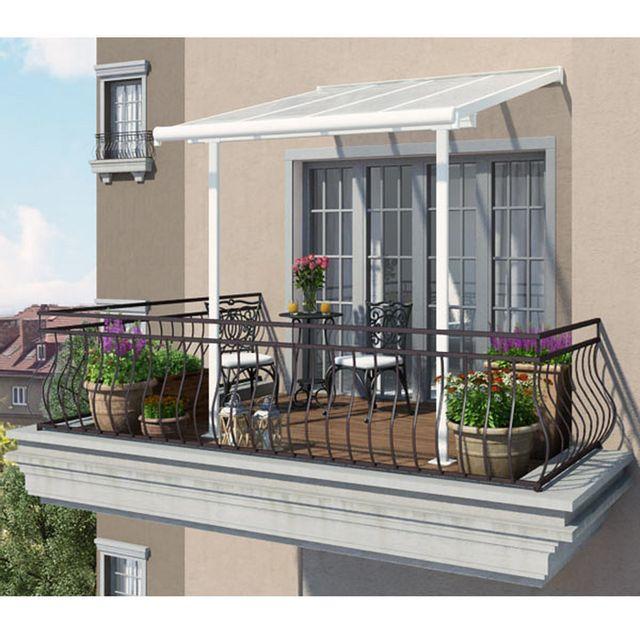 chalet jardin toit couv 39 terrasse blanc 2x2m pas cher achat vente tentes de r ception. Black Bedroom Furniture Sets. Home Design Ideas