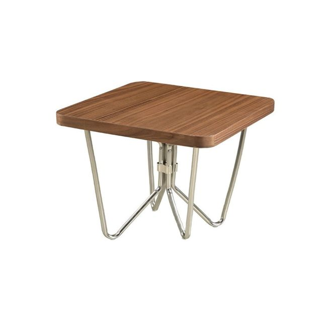 La Maison Du CanapÉ Table basse bois Lilo - Noyer - Marron