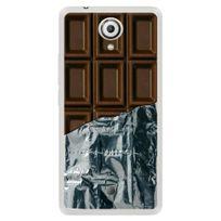 Kabiloo - Coque souple pour Wiko U Feel avec impression Motifs tablette de chocolat