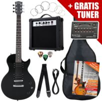 Rocktile - L-pack guitare électrique Black incl. ampli, housse, accordeur, câble, sangle