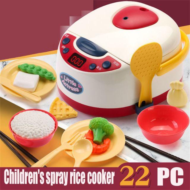 Enfants Spray Cuiseur A Riz Jouet Cadeau Cuisine Faire Semblant Jouer Accessoires Jouets Pas Cher Achat Vente Jeux Educatifs Rueducommerce