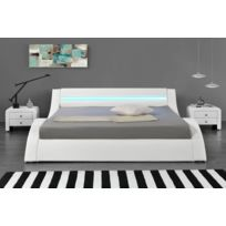 Lit Design LED blanc-140 x 190 cm