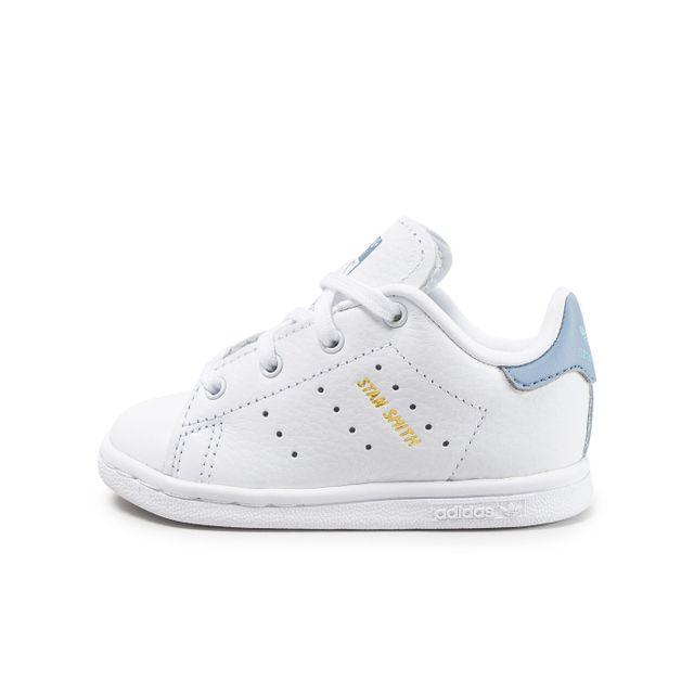 1cb64eedb5c Adidas originals - Stan Smith Bébé Blanche Et Bleue - pas cher Achat ...