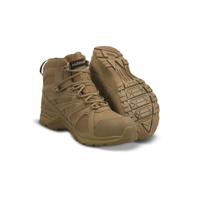 Altama Chaussures Elite 6 aboottabad Trail Mid Waterproof coyote