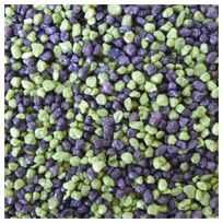 Aquadisio - Gravier Mélange Mauve/Vert en Coussin - 2Kg