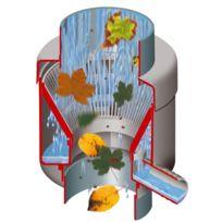 Garantia - Collecteur pour récupérateur d'eau de pluie filtrant Eco gris