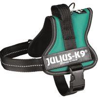 Julius K9 - Harnais Power Julius-K9 - Mini - M : 51-67 cm-28 mm - Vert - Pour chien