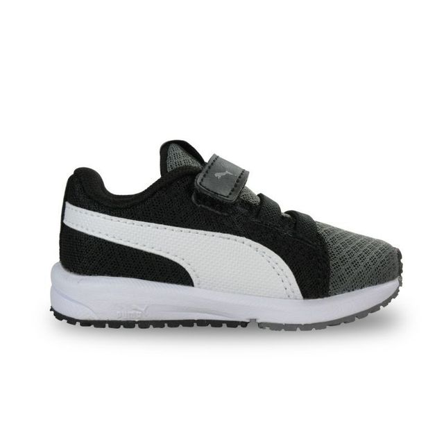 a431848f7fc Puma - Chaussure bébé carson runner mesh gris anthracite NC - pas cher  Achat   Vente Baskets enfant - RueDuCommerce