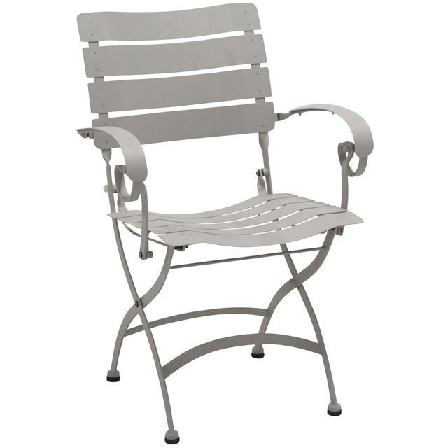 comforium chaise de jardin pliable coloris seashell pas cher achat vente chaises de jardin. Black Bedroom Furniture Sets. Home Design Ideas