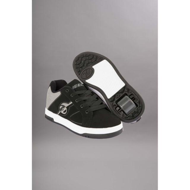 df01480a556b6 Heelys - chaussure a roulette Split Black grey - pas cher Achat   Vente  Chaussures à roulettes - RueDuCommerce