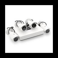 Auto-hightech - Kit camera Surveillance Nvr 4 canaux Poe Hdmi + 4 Cameras Ip 720P Visualisation mobile