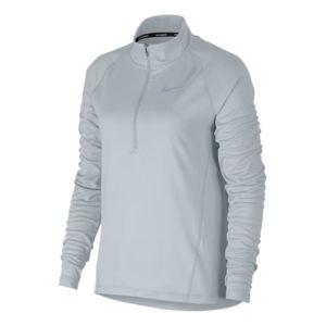 Nike - T-shirt Running Top Core manche longue gris clair femme Multicolour